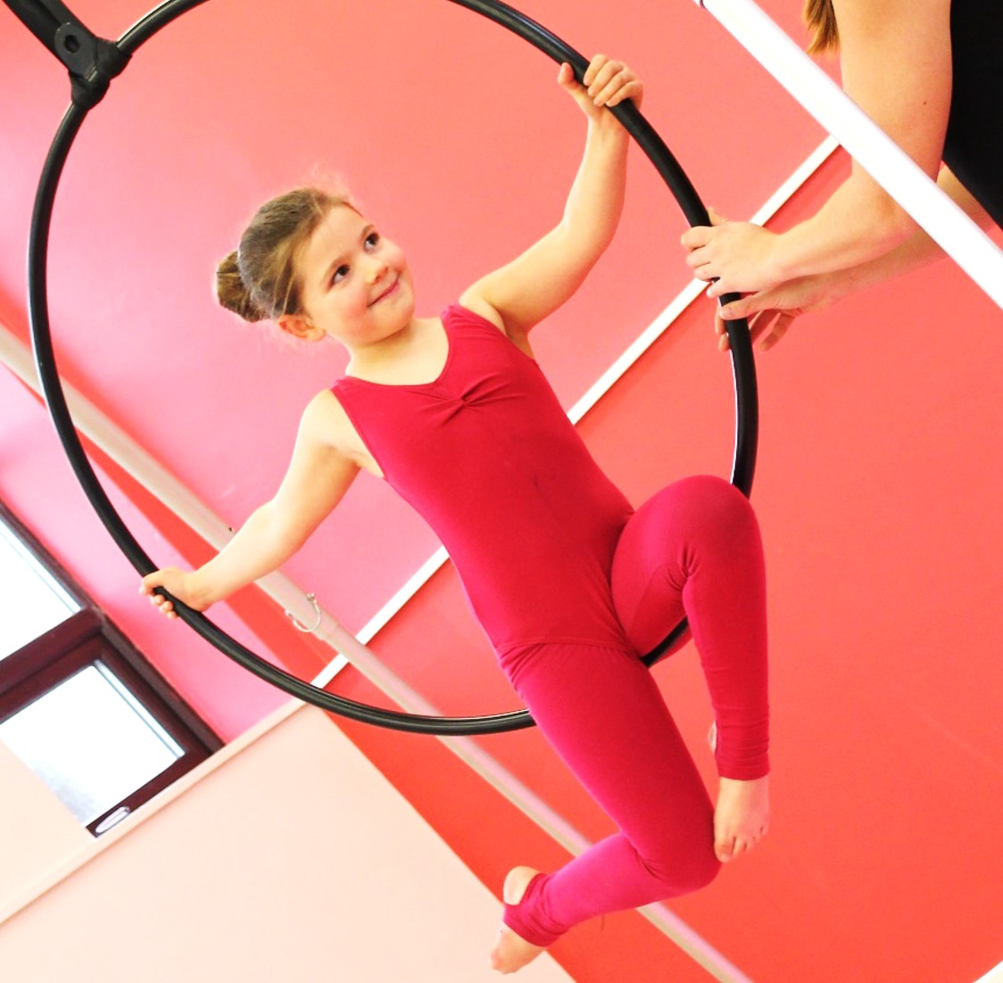 Aerial skills dance workshop at SK Dance Studio Wigan
