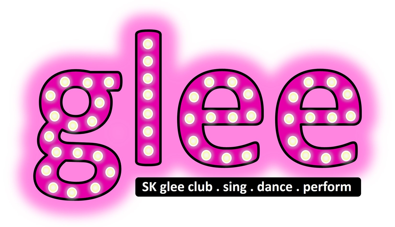 SK Dance Studio Glee Club Logo