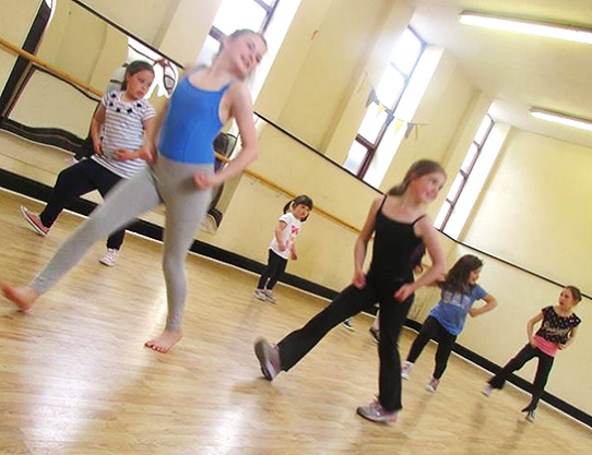 Street Dance Class at SK Dance Studio