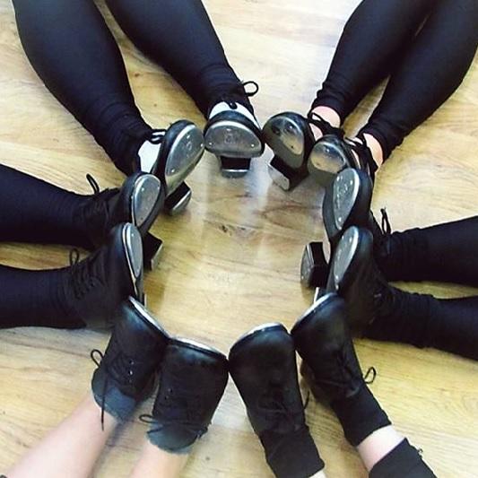 Tap shoes at SK Dance Studio