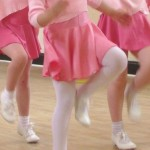 Tiny Tappers tap class at SK Dance Studio