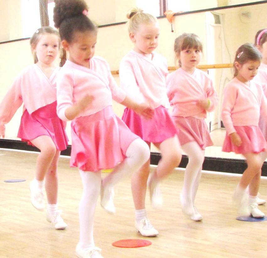 Children's Tap Class at SK Dance Studio Wigan