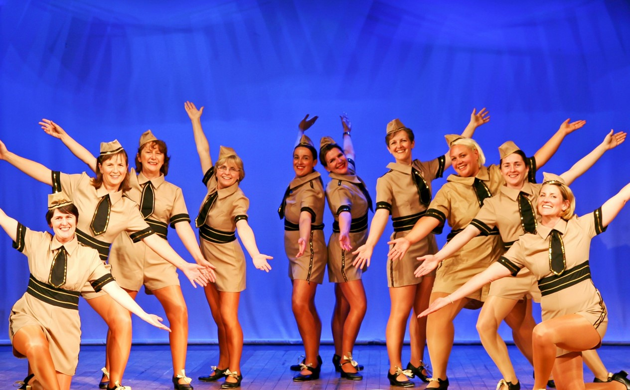 "Adult Tap Class at SK Dance Studio perform ""Boogie Woogie Budle Boy"""