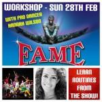 Fame the Musical workshop at SK Dance Studio Wigan