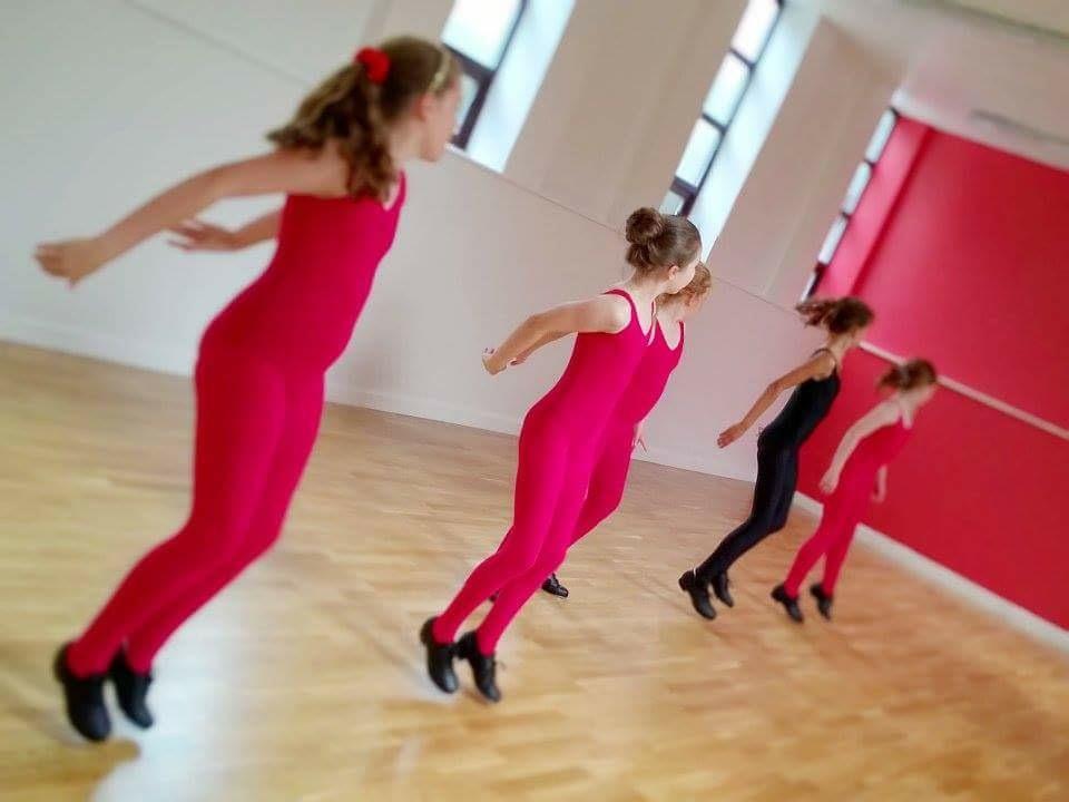 Tap dancing at SK Dance Studio Wigan