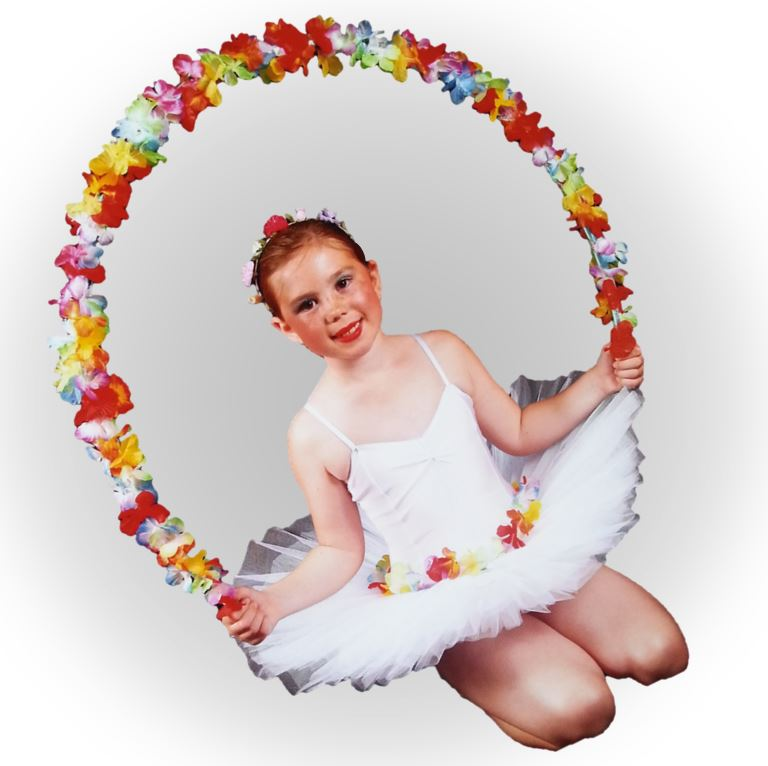 Little ballerina at SK Dance Studio Wigan