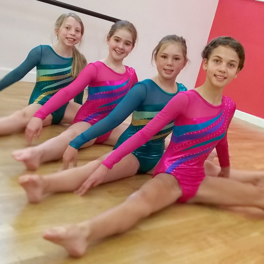 Acrobatic Arts Acro classes at SK Dance Studio, Appley Bridge, Wigan