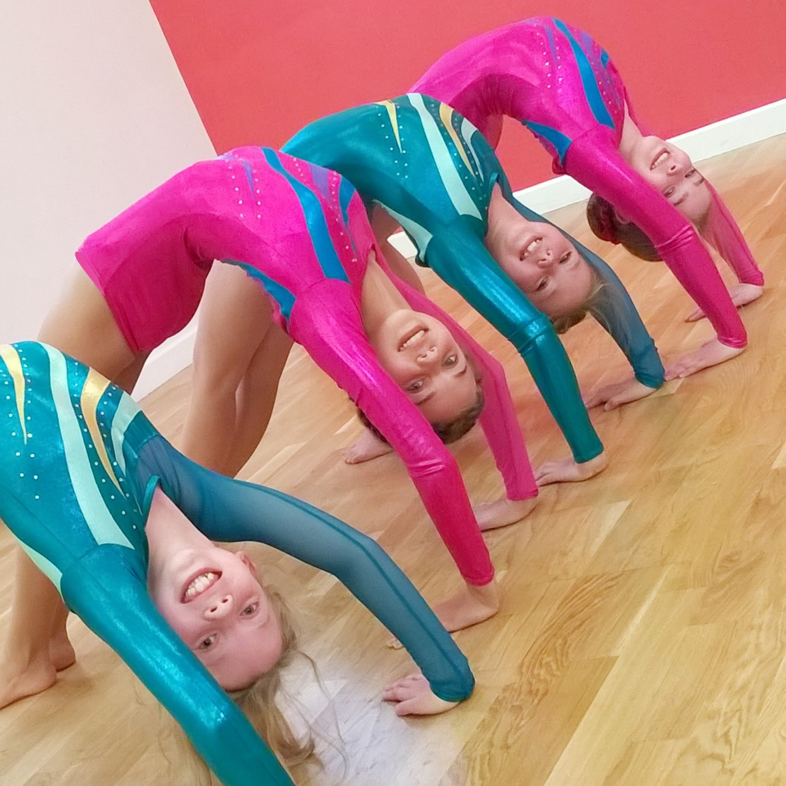 Acrobatic Arts Acro classes for kids at SK Dance Studio, Appley Bridge, Wigan