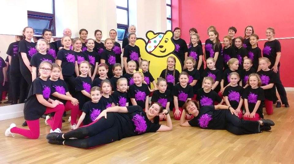 Tapathon 2016 at SK Dance Studio, Appley Bridge, Wigan