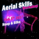 Aerial Skills Workshop at SK Dance Studio - Learn Hoop and Silks