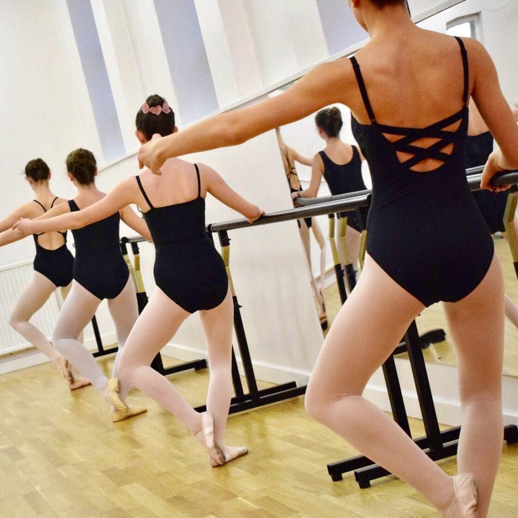 Ballet at the barre at SK Dance Studio Wigan