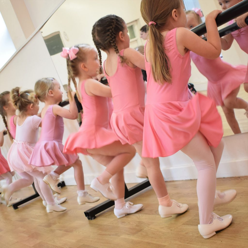 Tiny Tappers tap class for 3 and 4 year olds at SK Dance Studio Wigan