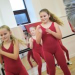 Tap dancers at SK Dance Studio Wigan