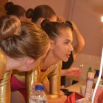 Dancers Backstage at SK Dance Studio Wigan Show