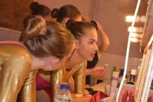 Dancers Backstage at SK Dance Studio Wigan Show
