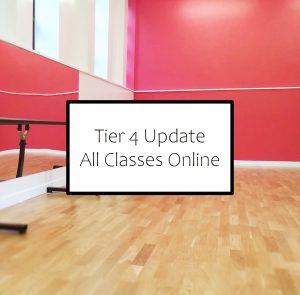 Online classes tier 4